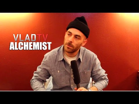 The Alchemist on First Meeting Eminem