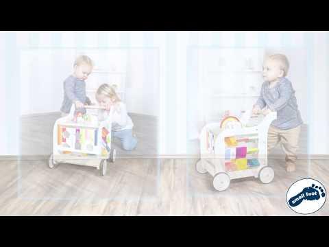 small foot Lauflernwagen Elefant / Baby Walker Elephant