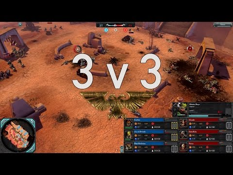 Dawn of War 2 — Faction Wars 2014 | Orks v Chaos Space Marines | 3/3