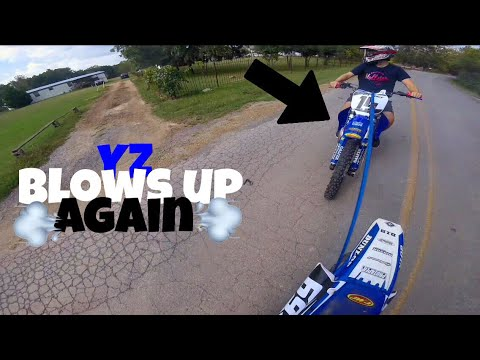 Yz125 Blows Up | 6th Gear Pinned