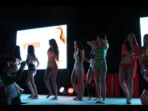 2012 FHM Bikini Heaven Boracay Celebrity Catwalk