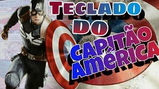 TECLADO!!do Capitão America NO SMARTPHONE PERSONALIZADO