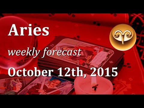 Aries, October 12th through 18th, 2015, weekly Tarot forecast