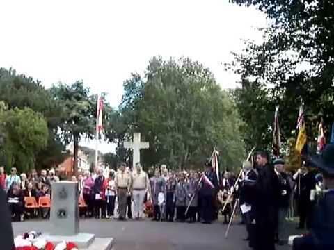 Newark Town Band Music - Air Bridge Warsaw Uprising Memorial Serice