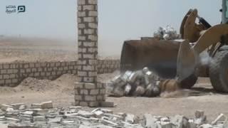 مصر العربية | محافظ قنا يقود حملة لإزالة التعديات علي أراضي الدولة