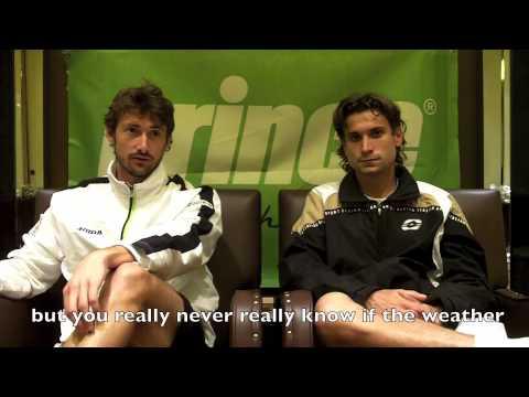 Prince Tennis: Team Athletes - Juan Carlos Ferrero & David Ferrer 2010