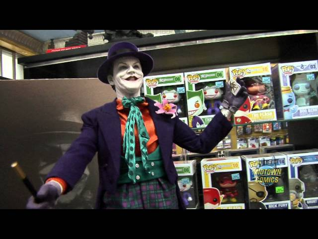 Hot Toys Joker Figure Unboxing 1989 Jack Nicholson Version