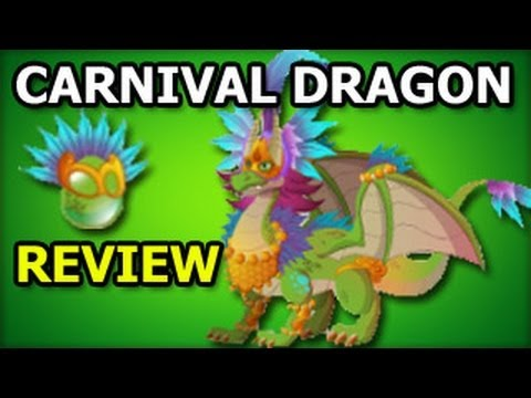 CARNIVAL DRAGON Dragon City Egg and Fast Level Up Review