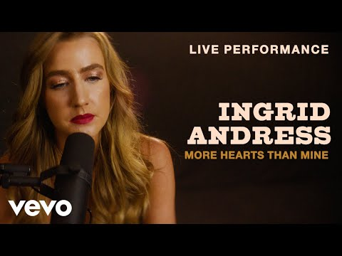 "Ingrid Andress - ""More Hearts Than Mine"" Live Performance 
