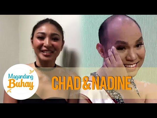 Magandang Buhay: Nadine Lustre's message for Chad Kinis Lustre-Reid