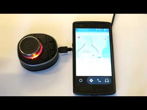 Bluetooth Rotary Phone controller for Car Navigation and Music