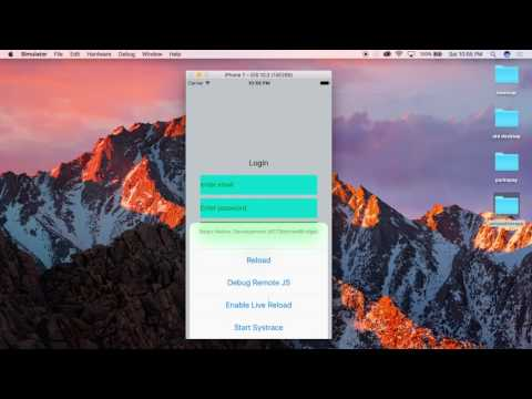 React Native resetting routes after login