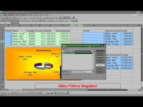 Excel Blattschutz - Dokumentenschutz - aufheben, aushebeln - 016