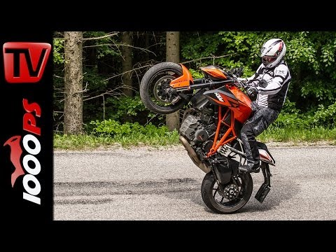 KTM 1290 Super Duke R - Test | 5 Meinungen - 1 Bike | Stunts, Action, Sound