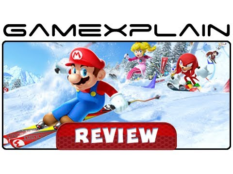 Mario & Sonic at the Sochi 2014 Olympic Winter Games - Review (Wii U)
