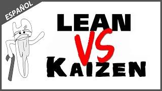 Lean vs Kaizen (Sistema Productivo Total y Mejora Continua)