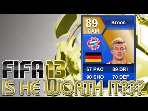 FIFA 13 - Ultimate Team Player Review - Toni Kroos TOTS!!!