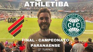ATHLETIBA - Final Campeonato Paranaense Segundo Turno - Vlog Emocionante na Arena da Baixada