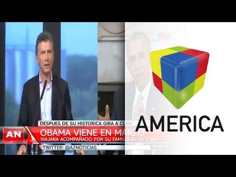 Obama visitará a la Argentina y destacó que Macri quiere empezar un nuevo capítulo