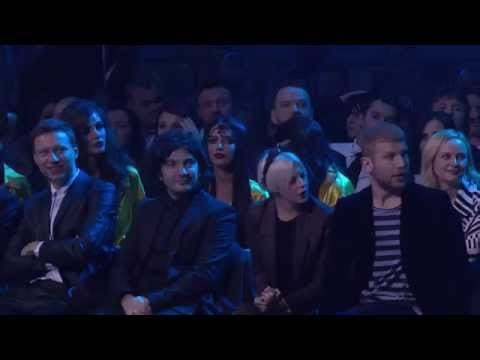 M1 Music Awards. Прорыв года - MONATIK - 26.11.2015