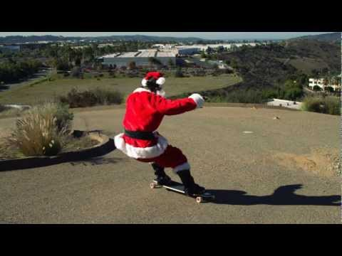 Consider This Our Holiday Card [Longboarding]