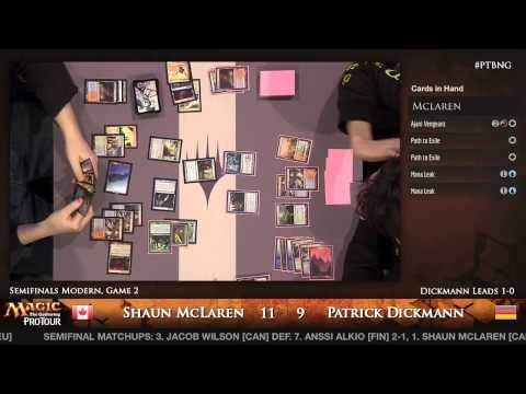 Pro Tour Born of the Gods - Semifinals - Patrick Dickmann vs. Shaun McLaren