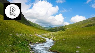 9 HOURS Gentle Stream - Gentle Rivers & Streams, nature sound, relaxing water sounds