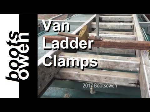 Make Roof Rack Ladder Clamps