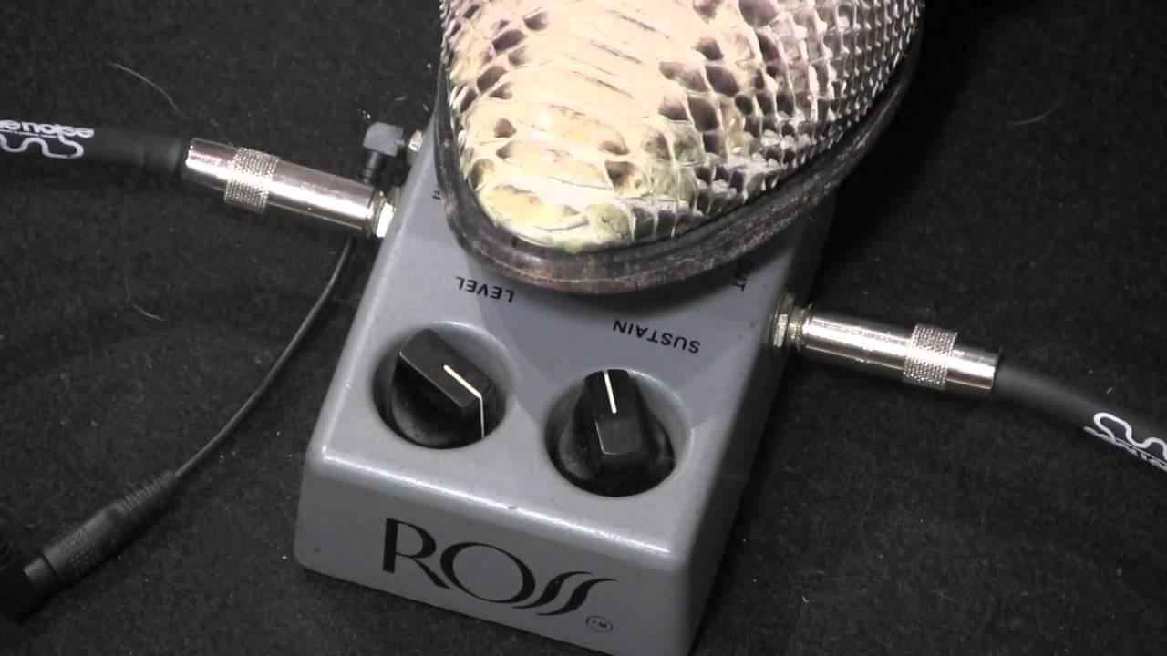 Ross Guitar Pedals Compressor Guitar Pedal