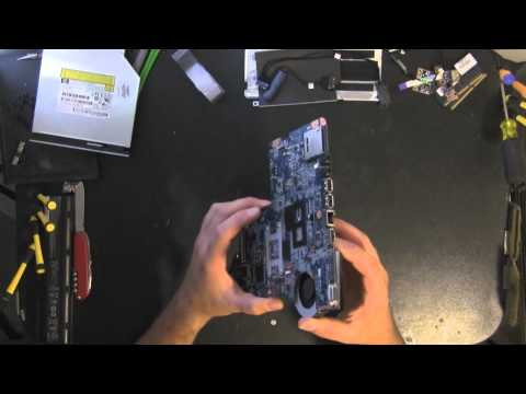 HP G62 take apart video. disassemble. how to open disassembly
