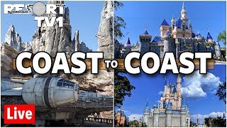 🔴Live: Coast to Coast Walt Disney World & Disneyland Live Stream 1080p - 10-19-19
