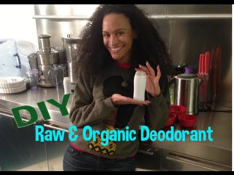DIY Beauty | Raw & Organic Deodorant