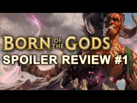 Born of the Gods Spoiler Review #1 - Magic: The Gathering (MTG)
