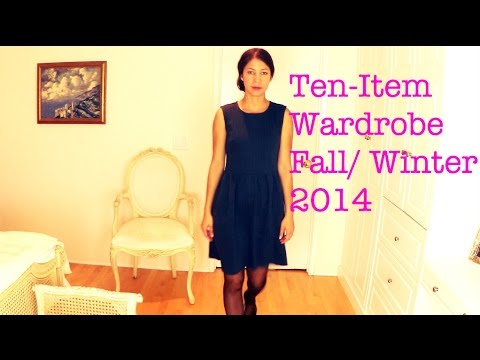 Ten Item Wardrobe Fall Winter 2014