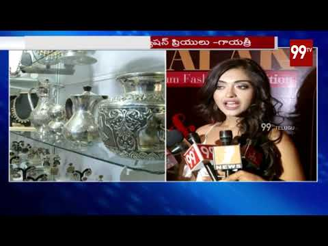 jhalak fashion designer exhibition in taj krishna | gayatri bharadwaj | miss india | | 99Tv