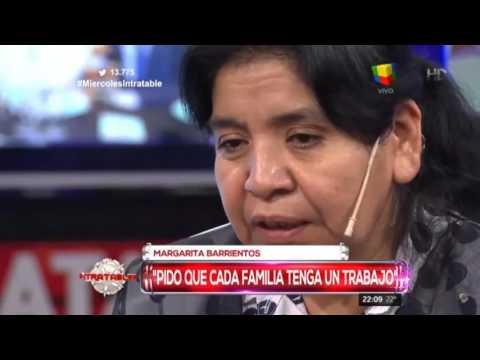 Margarita Barrientos y su deseo de Navidad: Que cada familia tenga un trabajo