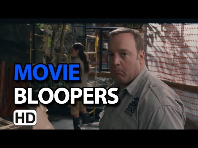 Zookeeper (2011) Bloopers Outtakes Gag Reel - Kevin James & Rosario Dawson