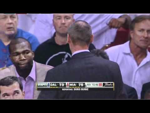 doris burke tells jeff van gundy to shut up [nba finals 2011]