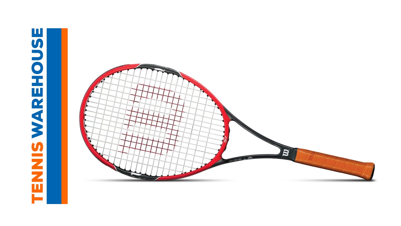wilson pro staff 97 racquet review youtube. Black Bedroom Furniture Sets. Home Design Ideas