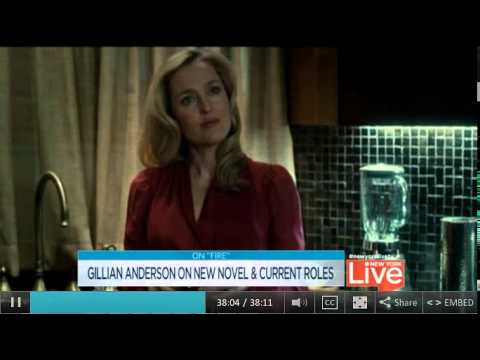Gillian Anderson  new york live