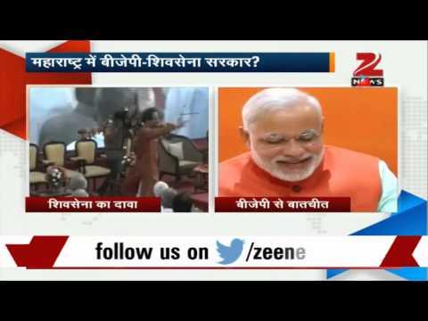 BJP-Shiv Sena to form govt in Maharashtra?
