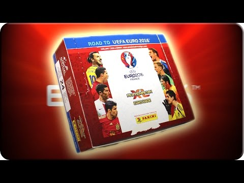 Road to UEFA EURO 2016 DISPLAY Unboxing