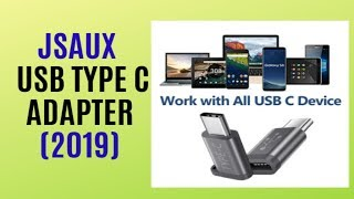 JSAUX USB Type C Adapter REVIEW / The Best Seller on AMAZON 2019