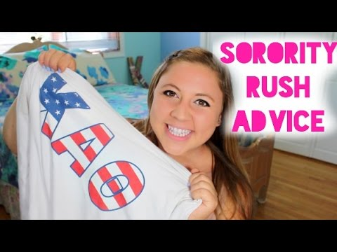 Sorority Recruitment Advice & My Experience! | College Survival Guide