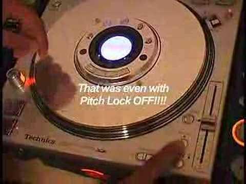 Technics professional CD Player