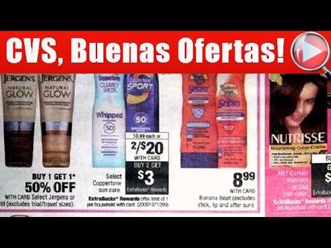CVS, Buenas Ofertas - Con Cupones de Descuento | 05/07 - 05/13/17