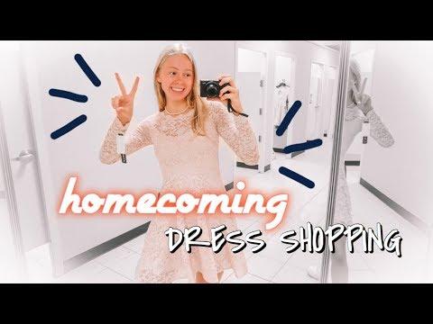 homecoming dress shopping 2019!!
