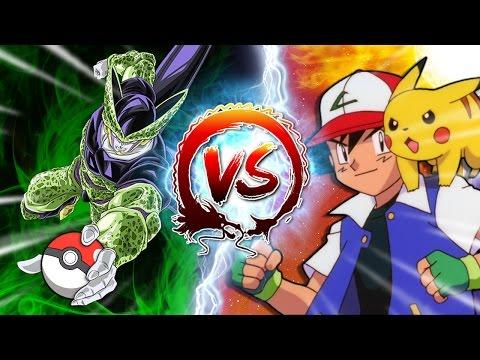Dragon Ball Z Abridged: Cell Vs Ash Ketchum #CellGames | TeamFourStar