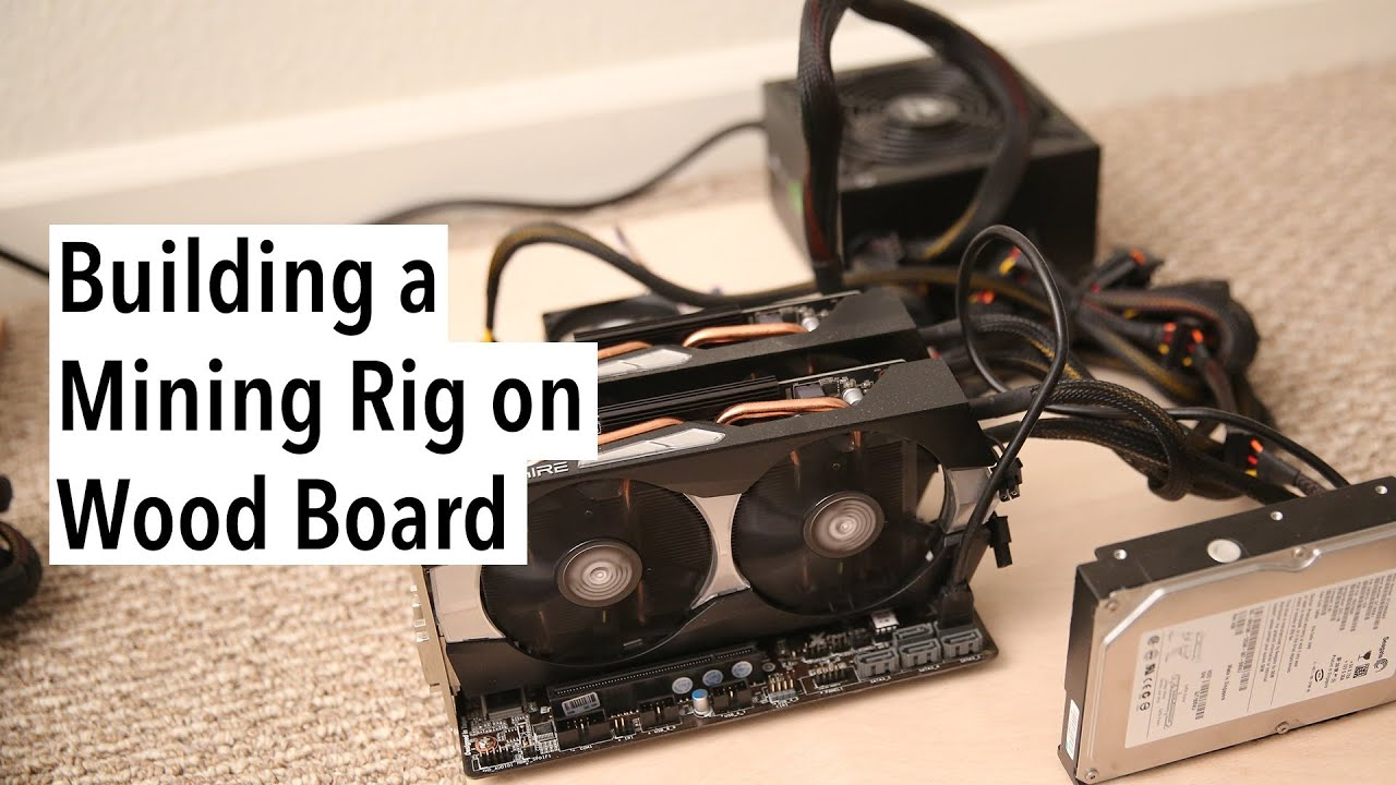 How to Build a Litecoin Mining Rig on Wood Board - YouTube