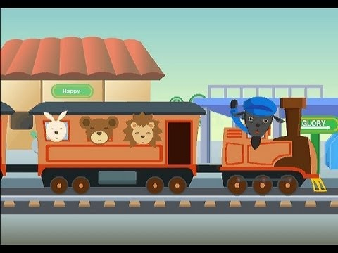This Train (is bound for glory) | nursery rhymes & children songs with lyrics | muffin songs